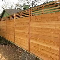 horizontal wood fence Horizontal Wood Fences | A Better Fence Company ...