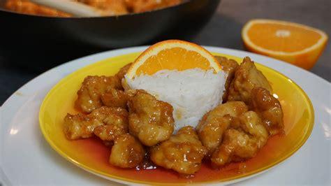 hervé cuisine chinois recette du poulet orange croustillant à la chinoise