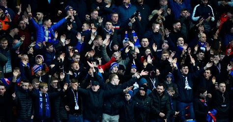 Rangers fans react as club faced with opening day trip to ...