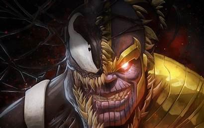 Venom Thanos Artwork Wallpapers