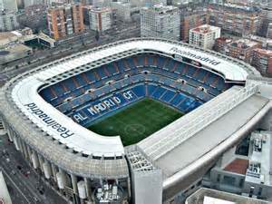 Estadio Santiago Bernabeu Madrid Spain