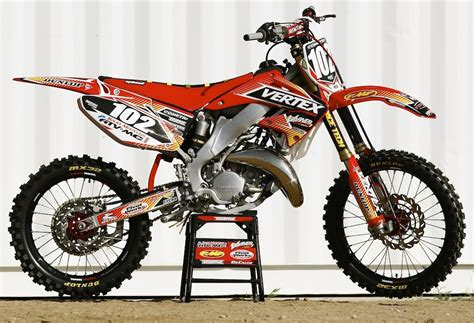honda cr 125 mxa smoke files what mxa did with a 900 2005 honda cr125