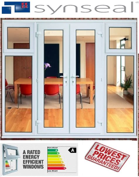 cheap upvc glazed door with side panels with