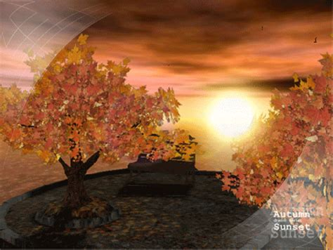 Autumn Animated Wallpaper - ad autumn sunset animated 3d wallpaper 5 07
