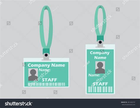lanyard card template free name tag holder badge identification card templates with