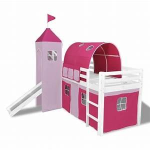 Kinderhochbett Mit Rutsche : vidaxl kinderhochbett mit rutsche leiter holz rosa g nstig kaufen ~ Whattoseeinmadrid.com Haus und Dekorationen