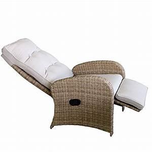 Sessel Mit Fußteil : polyrattan relaxsessel fernsehsessel gartensessel loungesessel mit fu teil entspannter alltag ~ Watch28wear.com Haus und Dekorationen