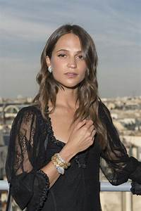 ALICIA VIKANDER at Bvlgari Pop Up Store in Paris 07/04 ...