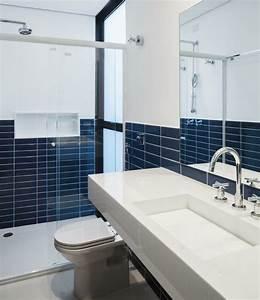 Cuisine Et Salle De Bain : carrelage bleu id es d co pour cuisine et salle de bain ~ Dode.kayakingforconservation.com Idées de Décoration