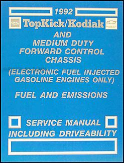 Gmc Topkick Chevy Kodiak Overhaul Manual Original