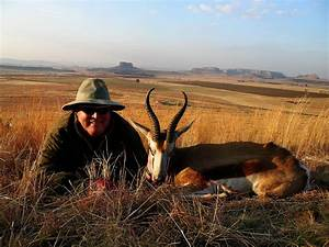Hunting Springbok In South Africa With Mkulu African