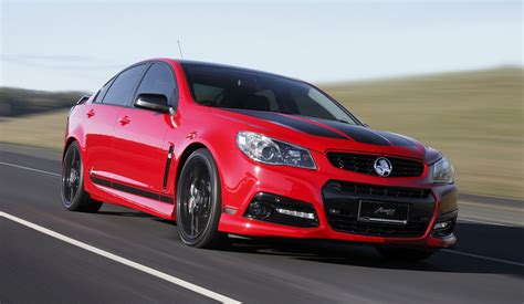2018 Holden Commodore Ssv Gets Special Edition Inspired By