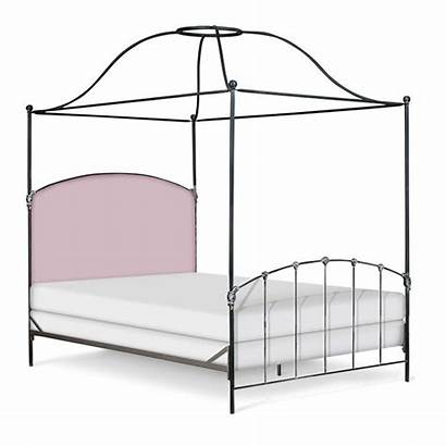 Bed Canopy Upholstered Iron Bamboo Peaceloveanddecorating Furniture