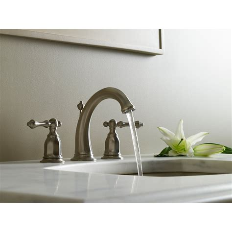 kohler kelston tub faucet kohler k 13491 4 bn kelston vibrant brushed nickel two