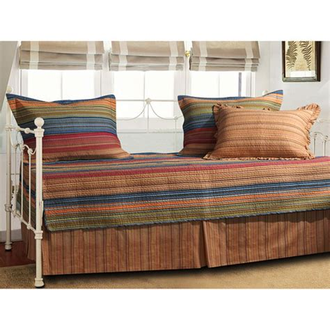 Walmart Daybed Bedding by Global Trends Boho Stripe Daybed Set Walmart