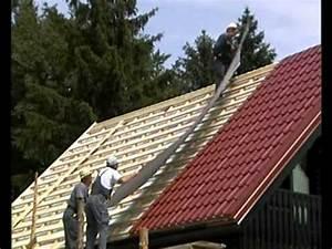 Carport Dach Decken : stahl dachdecken youtube ~ Articles-book.com Haus und Dekorationen