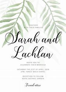 forest walk digital printing wedding invitations With paper lust wedding invitations