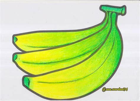 contoh mewarnai gambar buah buahan untuk anak tk www