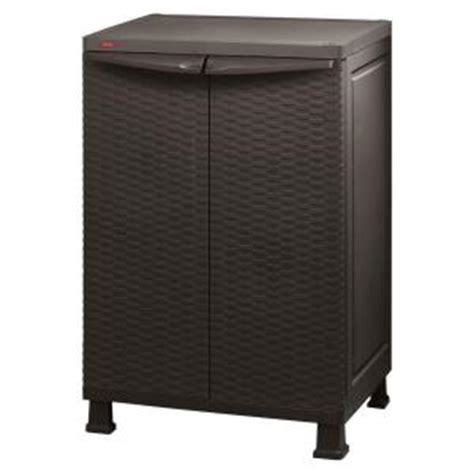 home depot standing ls keter 26 in x 39 in freestanding plastic rattan base