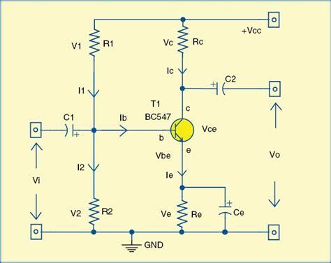 Design Analysis Single Stage Transistor Amplifier