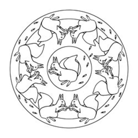 pferde mandala basteln gestalten