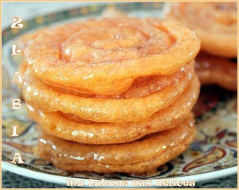cuisine orientale recettes zlabia patisserie orientale du ramadan recette facile et