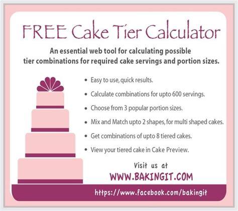 cake tier calculator  cake tool helps