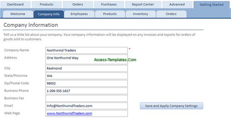 access templates for small business inventory tracker for access database templates tutorial