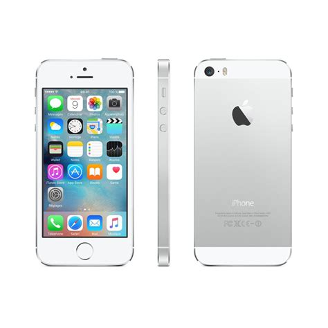 Iphone 5s 16gb Silber Ohne Vertrag Gebraucht Back