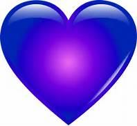 Blue heart clipart png...
