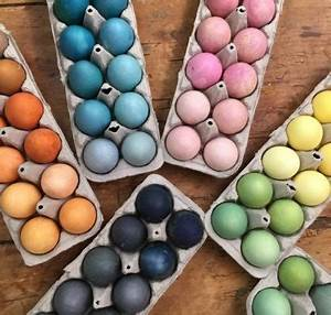 Aus Welchen Farben Mischt Man Lila : ostereier bemalen mit nat rlichen farben und techniken ~ Orissabook.com Haus und Dekorationen