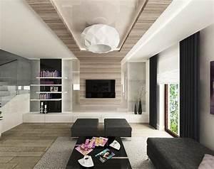 Parement Bois Intérieur : parement mural salon et peinture artistique en 80 id es d co ~ Premium-room.com Idées de Décoration