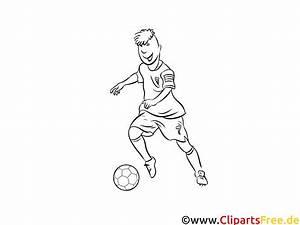 Fussball Verteidiger Bild Zum Ausdrucken Und Ausmalen