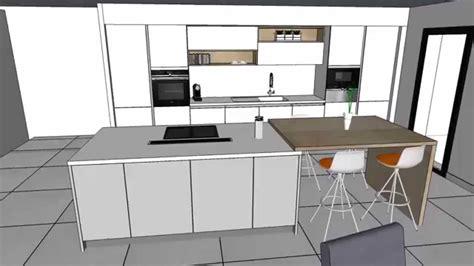 cuisine moderne blanc cuisine equipee blanc laquee evtod
