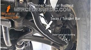 Remove Install New Front Sway Torsion Bar Bushings Ml 1998