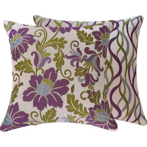 decorative purple pillows purple decorative bedroom pillows