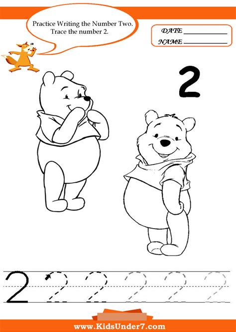number 2 worksheets for preschoolers worksheets for preschool children 7 writing 708