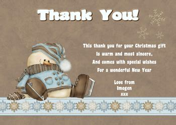 25% Off Our Christmas Thank You Notes