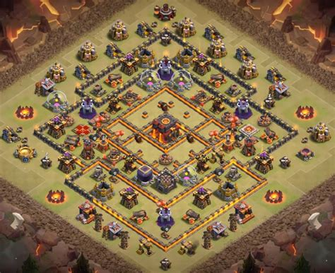 3 th10 layouts with 2 top 30 best th10 base layouts new war farming 3 th