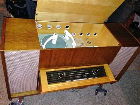 telefunken  wk  fi stereo mid century electronics