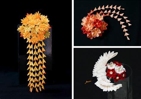 hair ornaments tsumami kanzashi hair ornaments