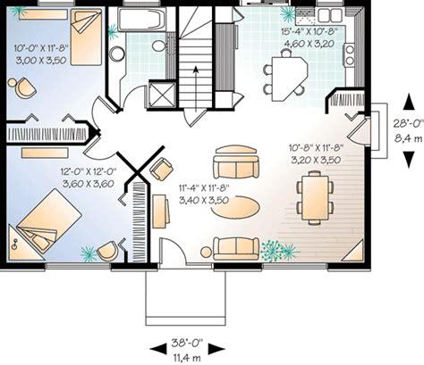 Plan Maison 2 Chambres - plan maison 2 chambres agrandir plan salle de