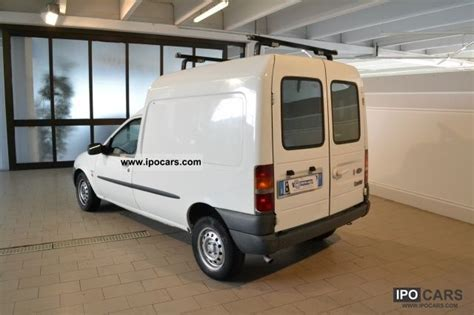 ford courier  diesel cat p van car photo  specs