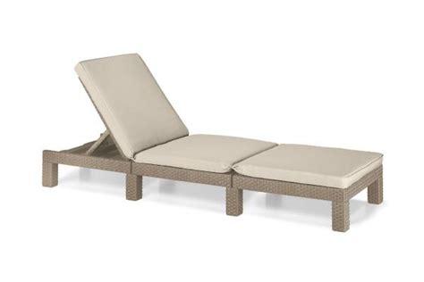 chaise de jardin allibert sun loungers loungebeds outdoor chaise longues allibert