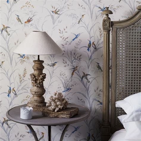 sanderson wallpapers tm interiors  cambridgeshire uk