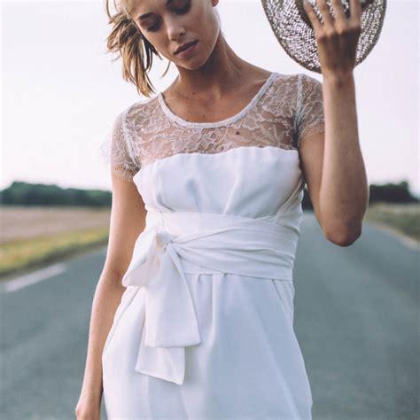 robe de mariée voilée et si on se mariait en robe courte lorafolk