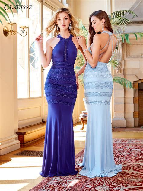 color prom dress 2018 prom dress clarisse 3449 promgirl net