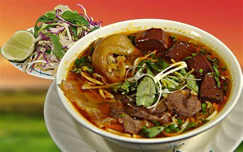 bun bo hue beef rice noodle soup travel
