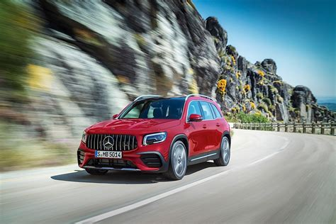 A heavier, higher and longer version of the a35. 2020 Mercedes-AMG GLB 35 4MATIC Review - autoevolution