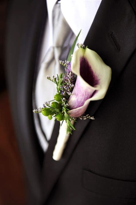 calla lily boutonniere ideas  pinterest calla